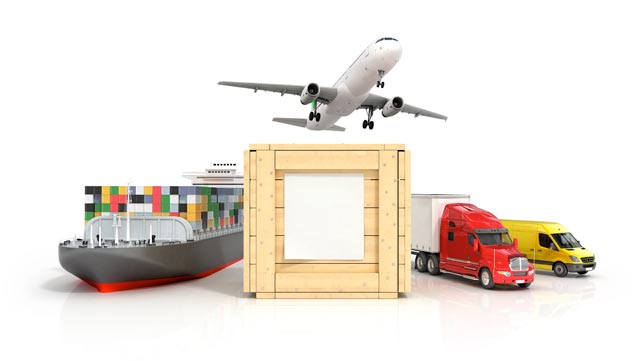 INTERNATIONAL REMOVALS: MAIN MEANS OF TRANSPORT