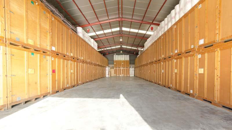 Take advantage of our furniture storage services in Mallorca
