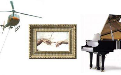 Mudanza de Objetos Pesados y Obras de Arte